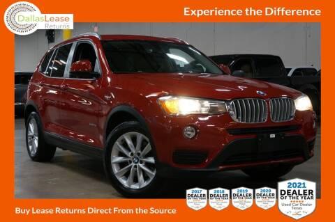 2017 BMW X3 for sale at Dallas Auto Finance in Dallas TX