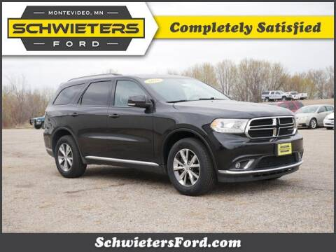 2016 Dodge Durango for sale at Schwieters Ford of Montevideo in Montevideo MN
