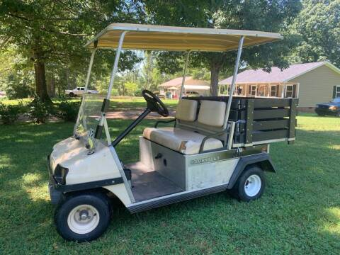 2002 Golf Cart With Carry Crate for sale at Automax of Eden in Eden NC