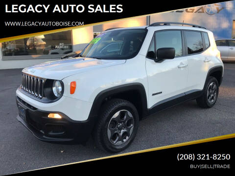 2016 Jeep Renegade for sale at LEGACY AUTO SALES in Boise ID