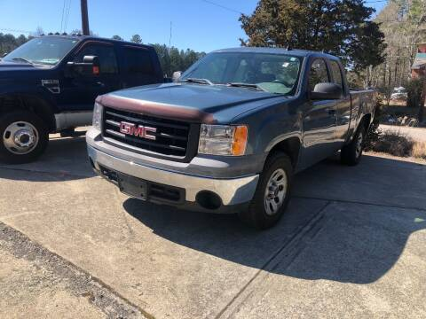 2007 GMC Sierra 1500 for sale at Moore's Motors in Durham NC
