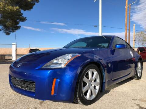 2004 Nissan 350Z for sale at Eastside Auto Sales in El Paso TX