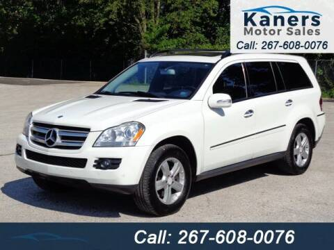 2008 Mercedes-Benz GL-Class for sale at Kaners Motor Sales in Huntingdon Valley PA