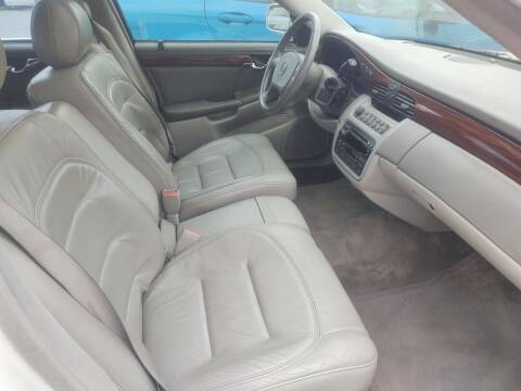 2002 Cadillac DeVille for sale at Mr E's Auto Sales in Lima OH