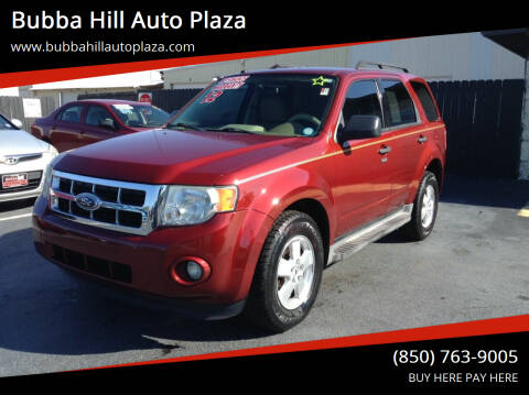 2012 Ford Escape for sale at Bubba Hill Auto Plaza in Panama City FL
