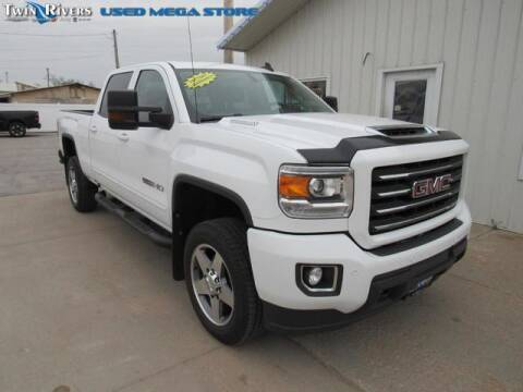2018 GMC Sierra 2500HD for sale at TWIN RIVERS CHRYSLER JEEP DODGE RAM in Beatrice NE