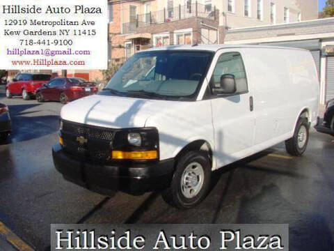 2015 Chevrolet Express Cargo for sale at Hillside Auto Plaza in Kew Gardens NY