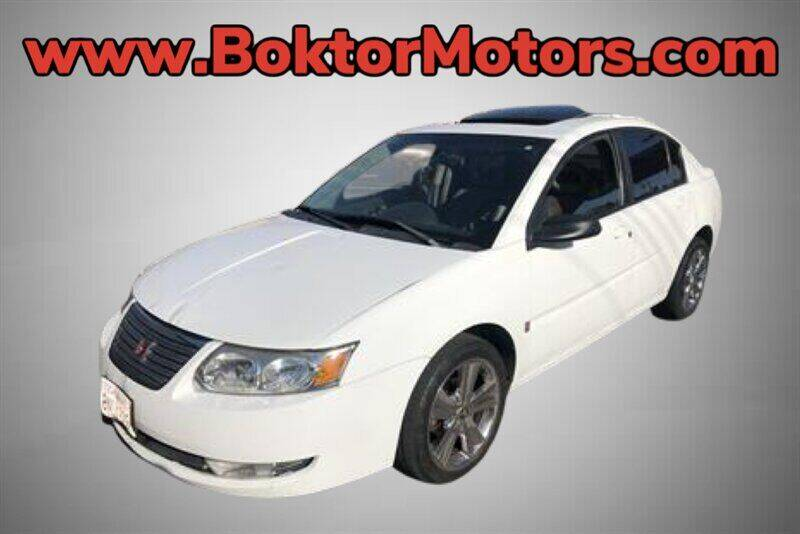 2006 Saturn Ion for sale at Boktor Motors in North Hollywood CA