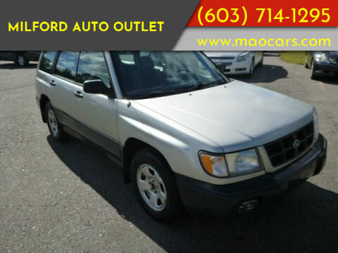 1999 Subaru Forester for sale at Milford Auto Outlet in Milford NH