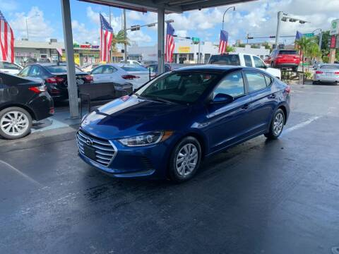 2017 Hyundai Elantra for sale at American Auto Sales in Hialeah FL