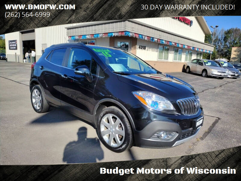 2015 Buick Encore for sale at Budget Motors of Wisconsin in Racine WI