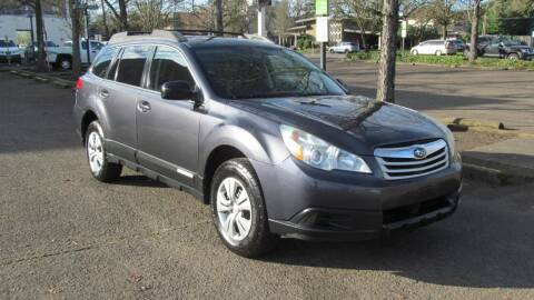2010 Subaru Outback for sale at D & M Auto Sales in Corvallis OR