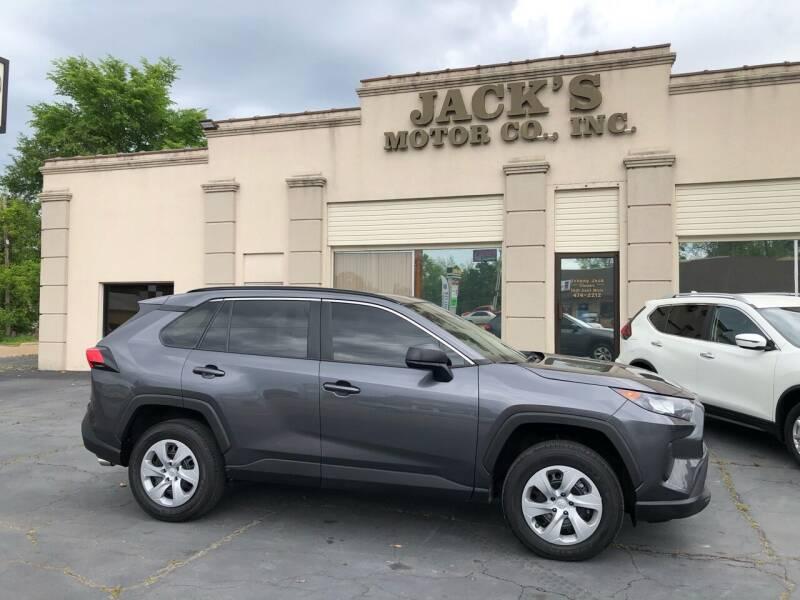 2021 Toyota RAV4 for sale at JACK'S MOTOR COMPANY in Van Buren AR