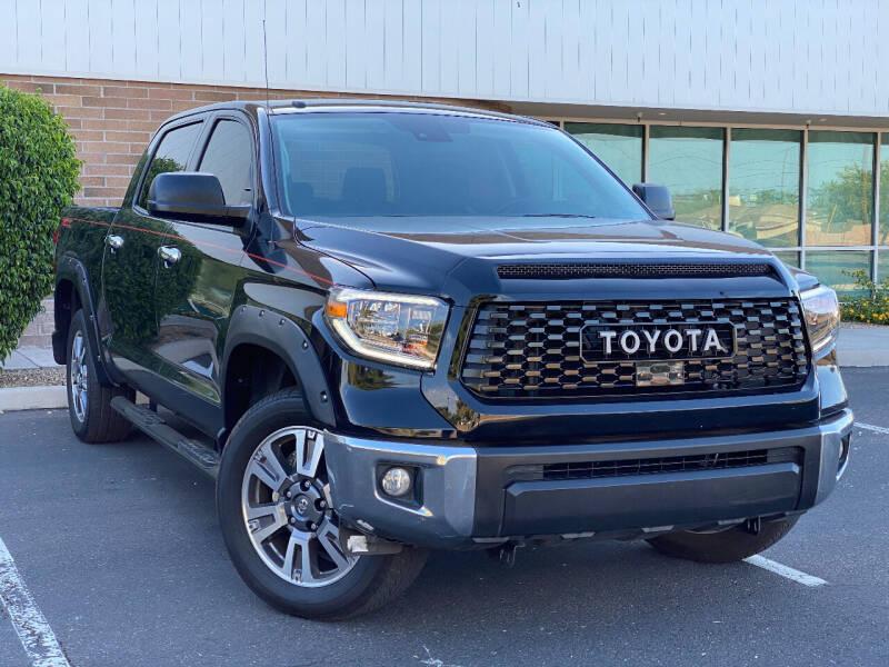 2018 Toyota Tundra for sale at AKOI Motors in Tempe AZ
