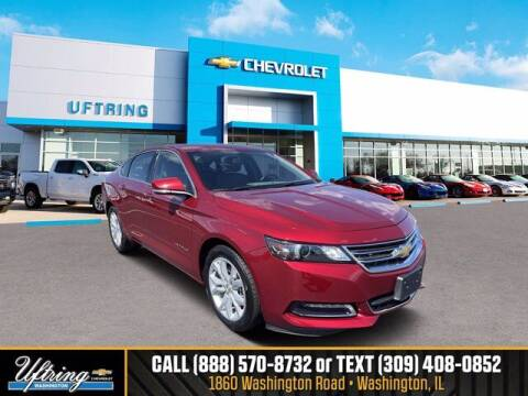 2018 Chevrolet Impala for sale at Gary Uftring's Used Car Outlet in Washington IL