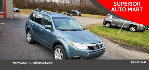 2010 Subaru Forester for sale at SUPERIOR AUTO MART in Amelia OH