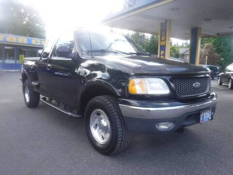 2001 Ford F-150 for sale at Brooks Motor Company, Inc in Milwaukie OR