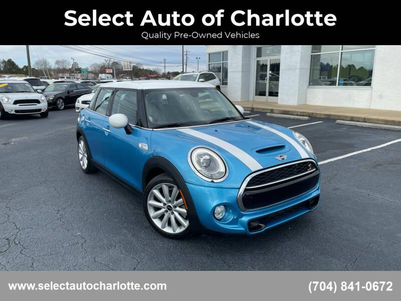 2015 MINI Hardtop 4 Door for sale at Select Auto of Charlotte in Matthews NC
