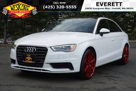 2016 Audi A3 for sale at West Coast Auto Works in Edmonds WA