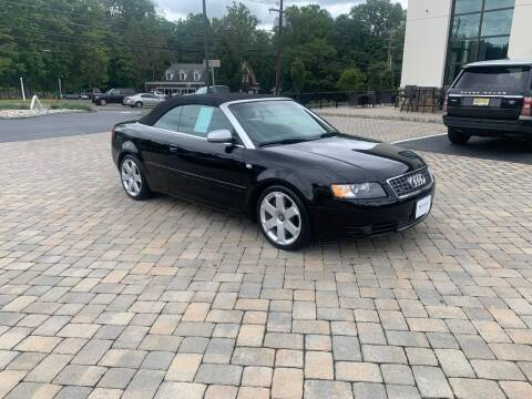 2004 Audi S4 for sale at Shedlock Motor Cars LLC in Warren NJ