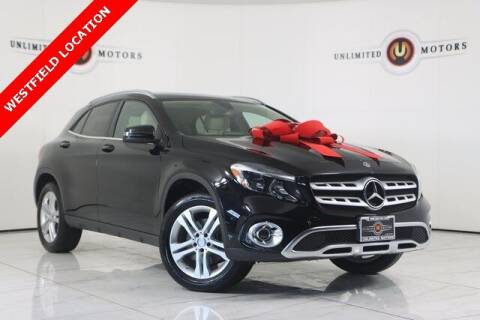 2018 Mercedes-Benz GLA for sale at INDY'S UNLIMITED MOTORS - UNLIMITED MOTORS in Westfield IN