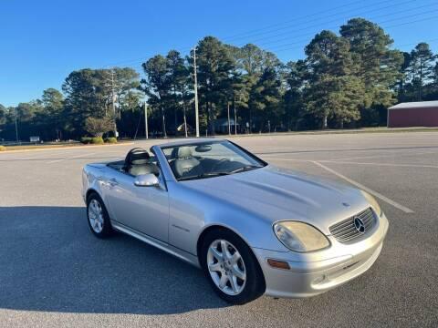2003 Mercedes-Benz SLK for sale at Carprime Outlet LLC in Angier NC