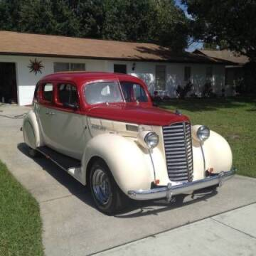 1938 Packard Hot Rod
