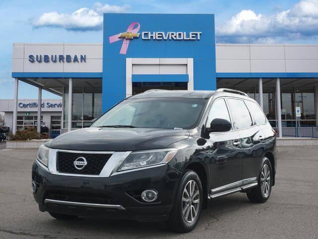 2015 Nissan Pathfinder for sale at Suburban Chevrolet of Ann Arbor in Ann Arbor MI