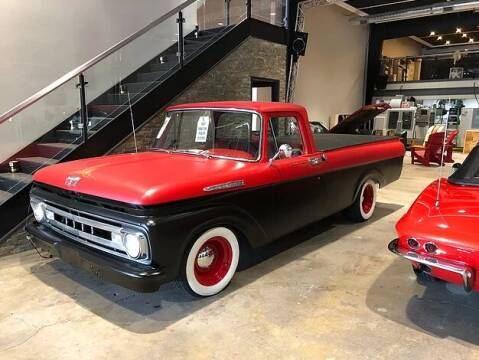 1961 Ford F-100 for sale at STUDIO HOTRODS in Richmond IL
