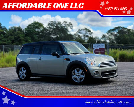 2011 MINI Cooper Clubman for sale at AFFORDABLE ONE LLC in Orlando FL