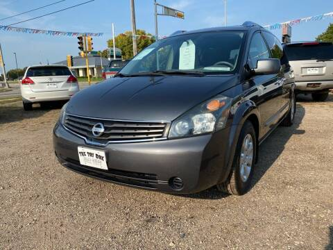 2008 Nissan Quest for sale at Toy Box Auto Sales LLC in La Crosse WI