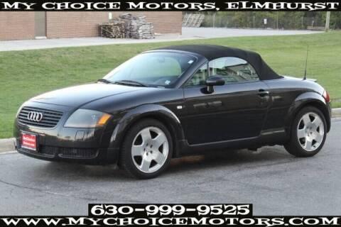 2002 Audi TT for sale at My Choice Motors Elmhurst in Elmhurst IL