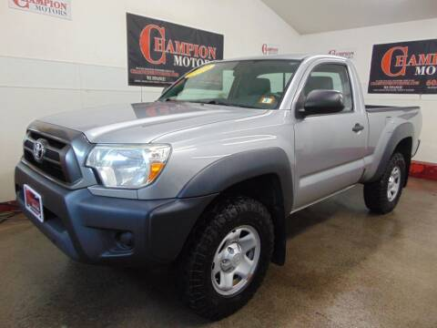 2014 Toyota Tacoma for sale at Champion Motors in Amherst NH