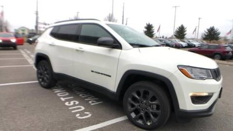 2021 Jeep Compass for sale at Waconia Auto Detail in Waconia MN