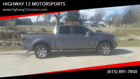 2011 Ford F-150 for sale at HIGHWAY 12 MOTORSPORTS in Nashville TN