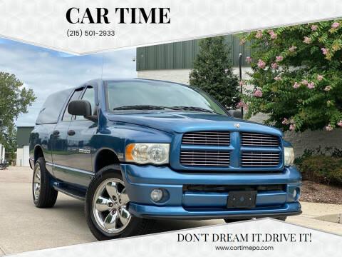 2004 Dodge Ram Pickup 1500 for sale at Car Time in Philadelphia PA