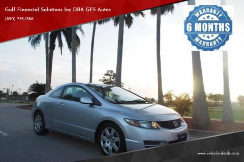 2010 Honda Civic for sale at Gulf Financial Solutions Inc DBA GFS Autos in Panama City Beach FL