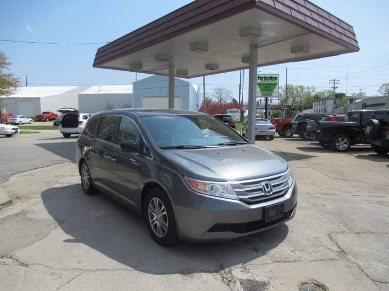 2011 Honda Odyssey for sale at Perfection Auto Detailing & Wheels in Bloomington IL