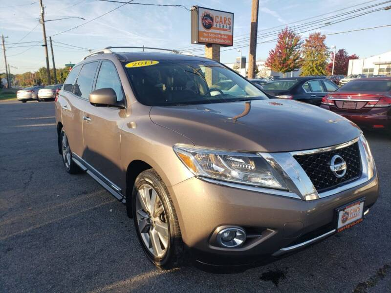 2014 Nissan Pathfinder for sale at Cars 4 Grab in Winchester VA