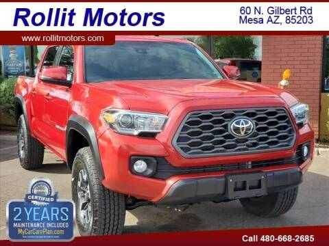 2020 Toyota Tacoma for sale at Rollit Motors in Mesa AZ
