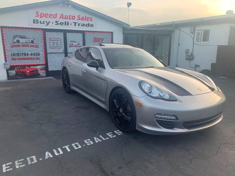 2013 Porsche Panamera for sale at Speed Auto Sales in El Cajon CA