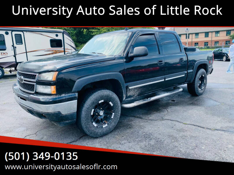 2006 Chevrolet Silverado 1500 for sale at University Auto Sales of Little Rock in Little Rock AR