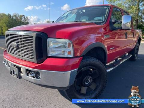2007 Ford F-250 Super Duty for sale at IMPORTS AUTO GROUP in Akron OH