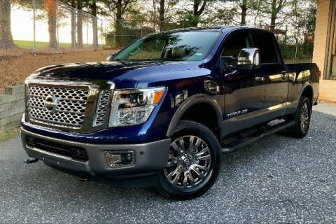 2019 Nissan Titan XD for sale at TRUST AUTO in Sykesville MD