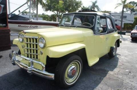 1950 Jeep Willys for sale at Dream Machines USA in Lantana FL