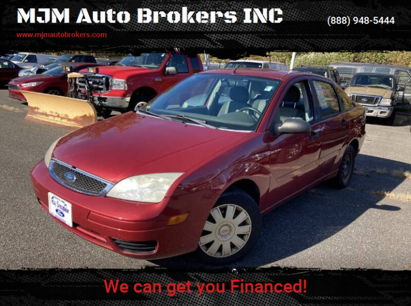 2005 Ford Focus for sale at MJM Auto Brokers INC in Gloucester MA