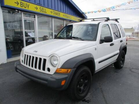 2007 Jeep Liberty for sale at Affordable Auto Rental & Sales in Spokane Valley WA