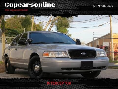 2011 Ford Crown Victoria for sale at Copcarsonline in Largo FL