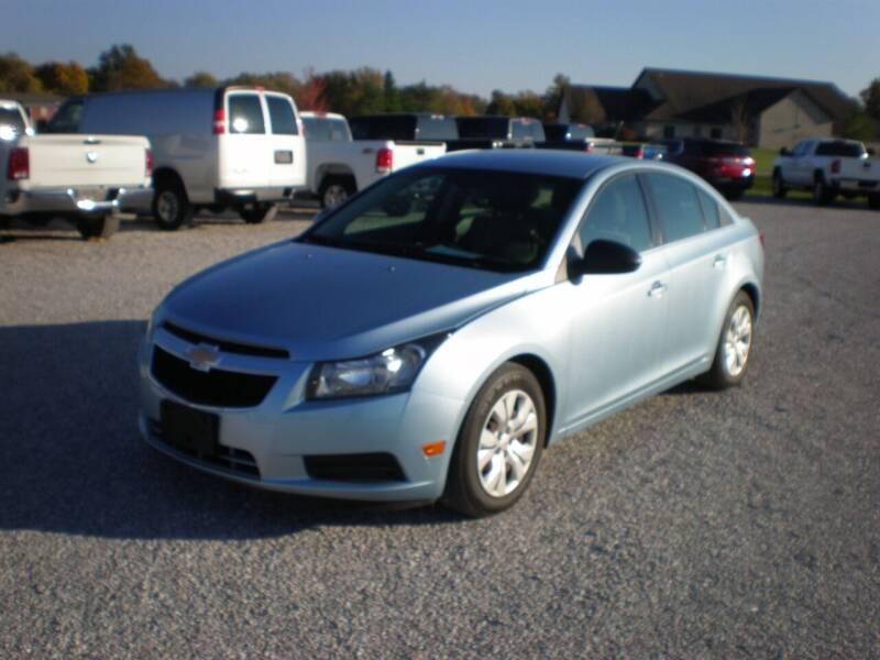 2012 Chevrolet Cruze for sale at Burtle Motors in Auburn IL
