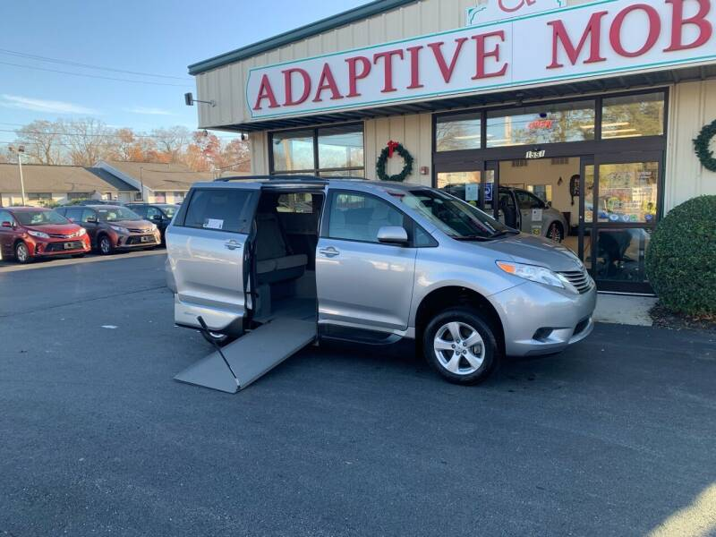 2016 Toyota Sienna for sale at Adaptive Mobility Wheelchair Vans in Seekonk MA